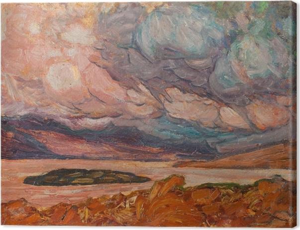 Helmer Osslund - Landscape Canvas Print - Reproductions