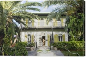 Hemingway House, Key West, Florida, USA Canvas Print