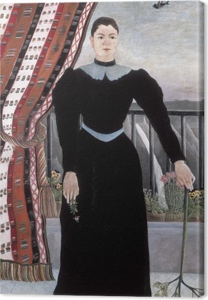 Henri Rousseau - Portrait of a Woman Canvas Print - Reproductions