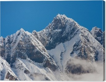 Himalaya mountains Canvas Print