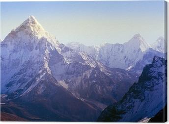 Himalaya Mountains Canvas Print