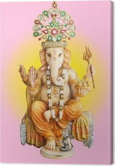 Hindu God Ganesha Canvas Print