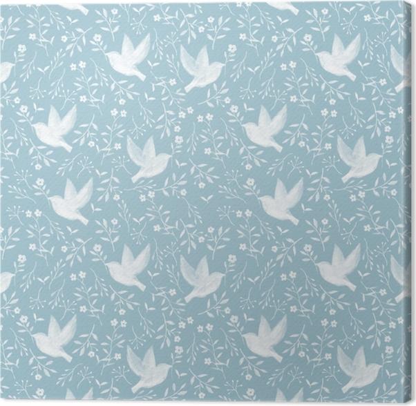 Hope dove - Nina Ho Canvas Print - Contemporary artists