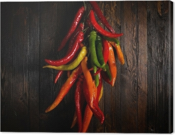 Hot pepper Canvas Print