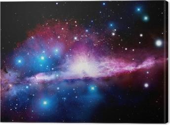 Illustration of a nebula Canvas Print