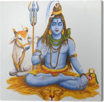 image of Shiva Canvas Print