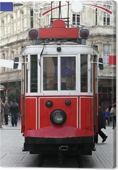 Istanbul Public Tram Canvas Print