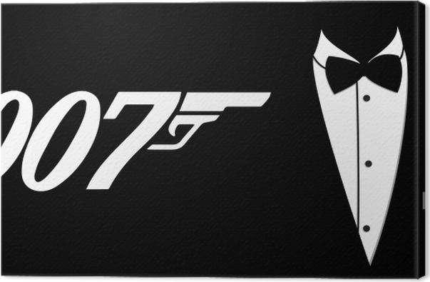 James Bond Canvas Print - Themes
