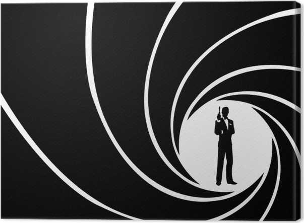 James Bond Canvas Print - Themes