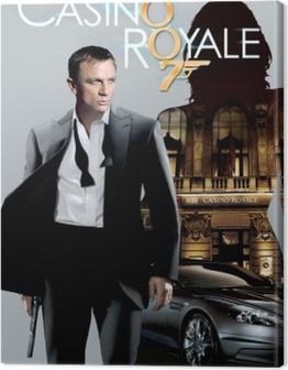 James Bond Canvas Print