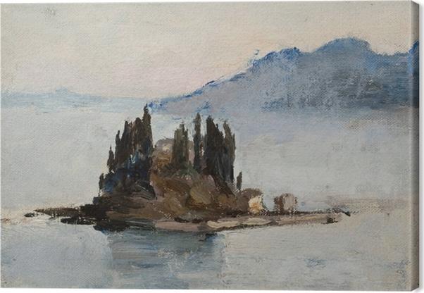 Jan Ciągliński - Corfu. From the Journey to Greece Canvas Print - Reproductions