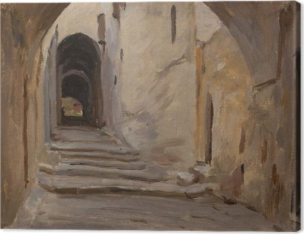 Jan Ciągliński - Jerusalem. From the Journey to Palestine. Canvas Print - Reproductions