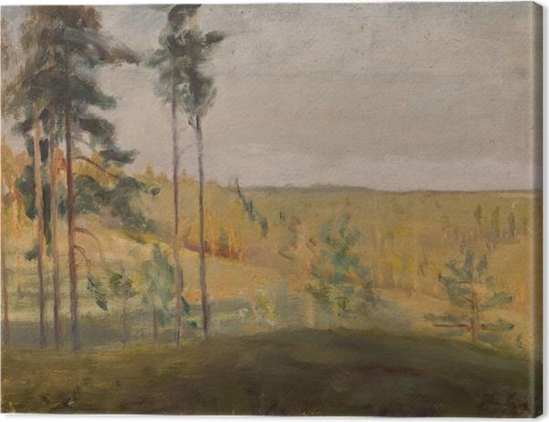 Jan Ciągliński - Terioki - Finland Canvas Print - Reproductions