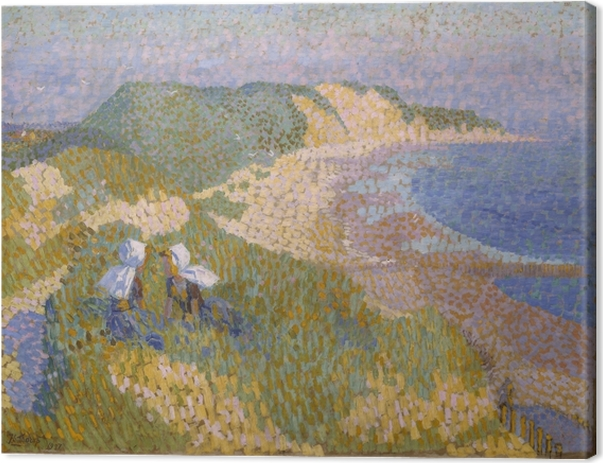 Jan Toorop - Dunes and Sea in Zoutelande Canvas Print - Reproductions