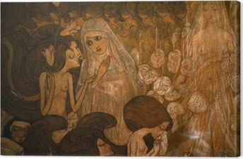 Jan Toorop - The Three Brides II Canvas Print