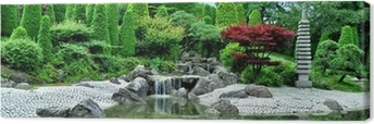 Japanischer Garten Canvas Print