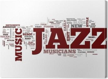 Jazz Music Canvas Print