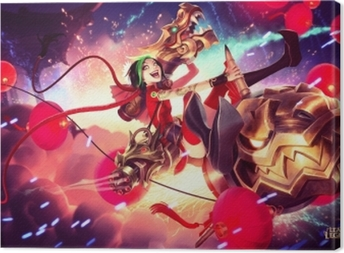 Jinx - League of Legends Canvas Print