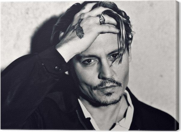 Johnny Depp Canvas Print - Criteo