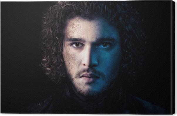 Jon Snow Canvas Print - Themes