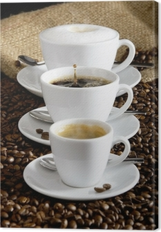 Kaffee Canvas Print