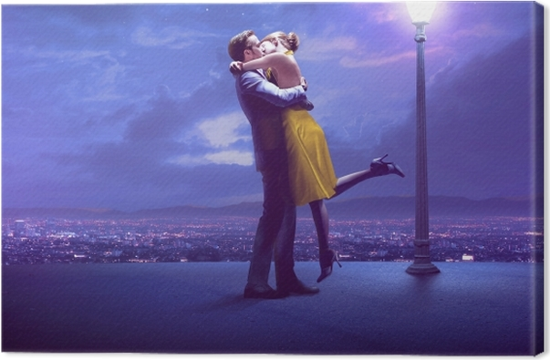 La La Land Canvas Print - Ryan Gosling