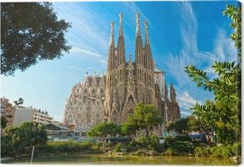 La Sagrada Familia, Barcelona, spain. Canvas Print