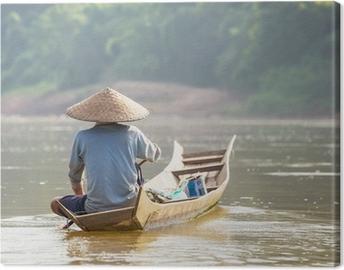 Lao people Canvas Print