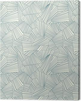 lattice pattern Canvas Print
