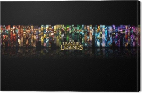 League of Legends Canvas Print - Themes