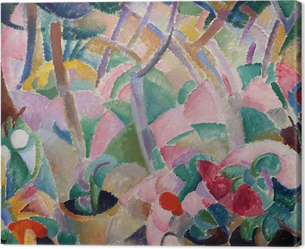 Leo Gestel - Giardino, Mallorca Canvas Print - Reproductions