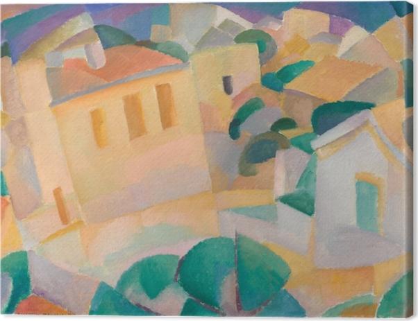 Leo Gestel - Mallorca Canvas Print - Reproductions