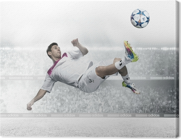 Leo Messi Canvas Print - Bestsellers Posters