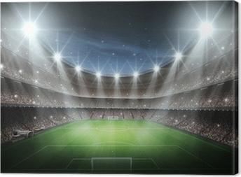 Light of Stadium Canvas Print
