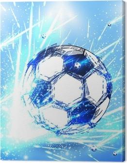 light soccer stage Canvas Print