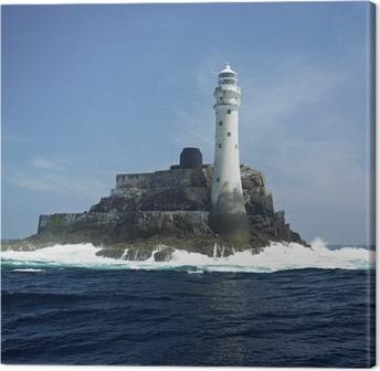lighthouse, Fastnet Rock, County Cork, Ireland Canvas Print