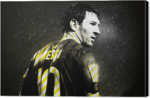 Lionel Messi Canvas Print - Lionel Messi