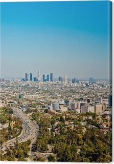 Los Angeles skyscrapers Canvas Print