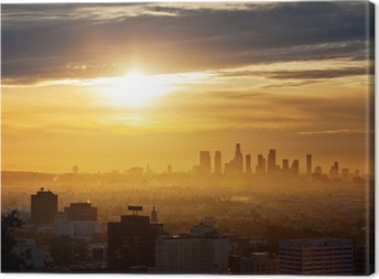 Los Angeles sunrise Canvas Print