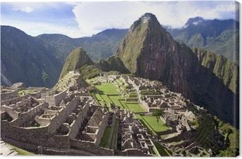Machu pichu Inca Canvas Print