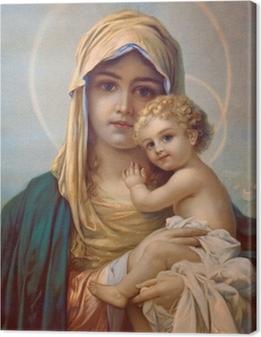 Madonna - Mother of God Canvas Print
