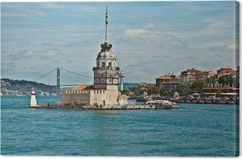 maiden tower Canvas Print