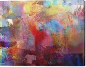 malerei texturen Canvas Print