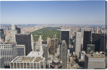 Manhattan From High Viewpoint Canvas Print