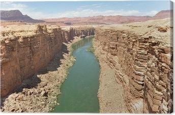 Marble Canyon, Colorado River in Arizona Canvas Print