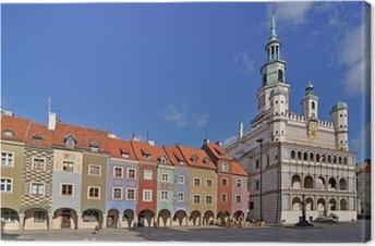 Market square, Poznan, Poland Canvas Print