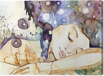 marzenia senne Canvas Print