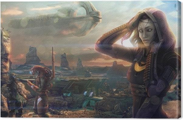 Mass Effect Canvas Print - Themes