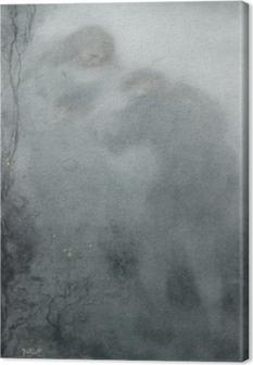 Matthijs Maris - Figures in the Woods Canvas Print
