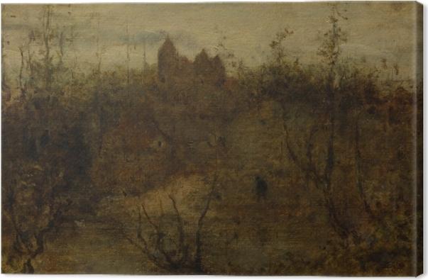 Matthijs Maris - The Enchanted Castle Canvas Print - Reproductions